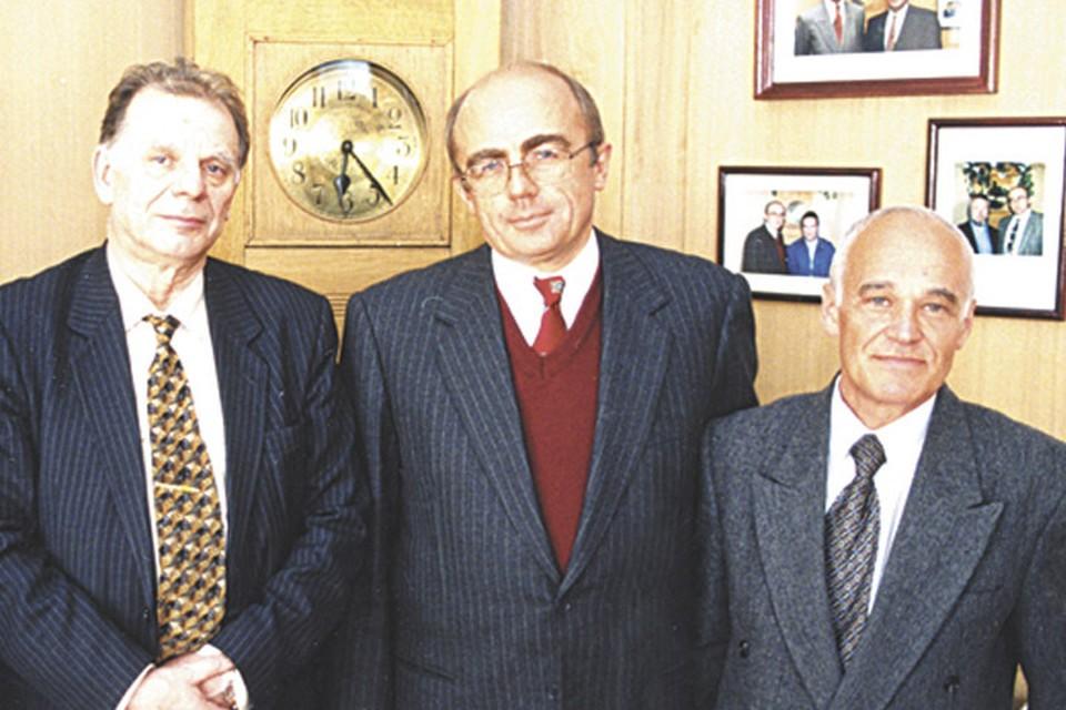Новая система образования привлекла в вуз даже Нобелевского лауреата Жореса Алферова. Фото: СПбГУП.