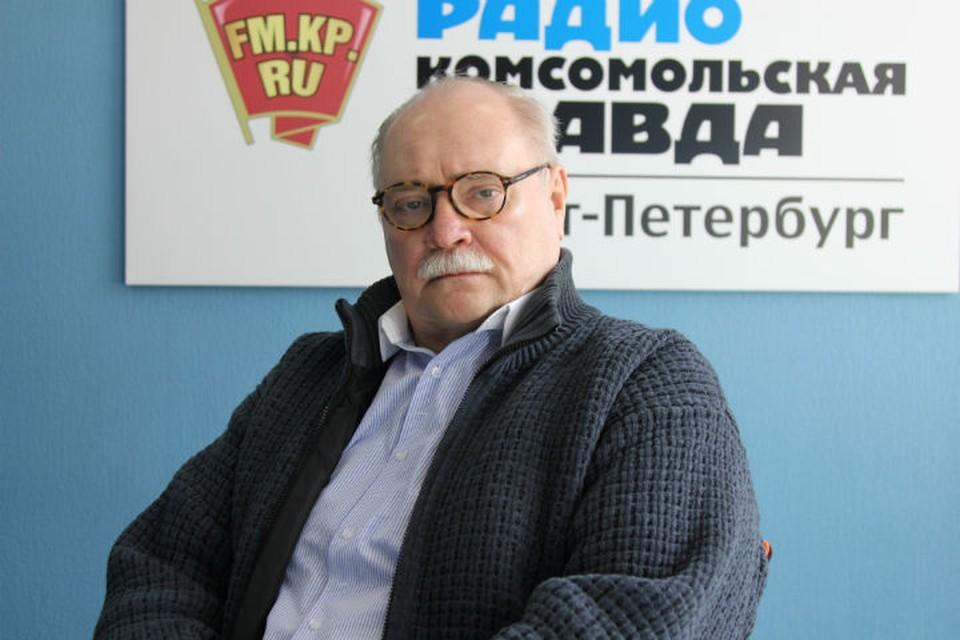 Владимир Бортко в студии радио «Комсомольская Правда в Петербурге»