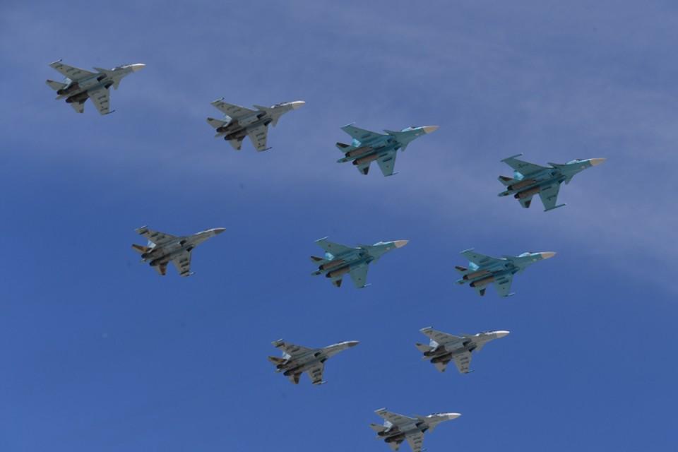 В Москве отменили воздушную часть парада Победы