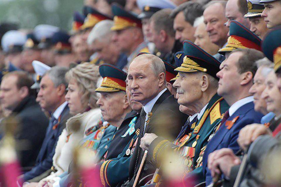 Путин: важно сохранять память о Великой Отечественной войне