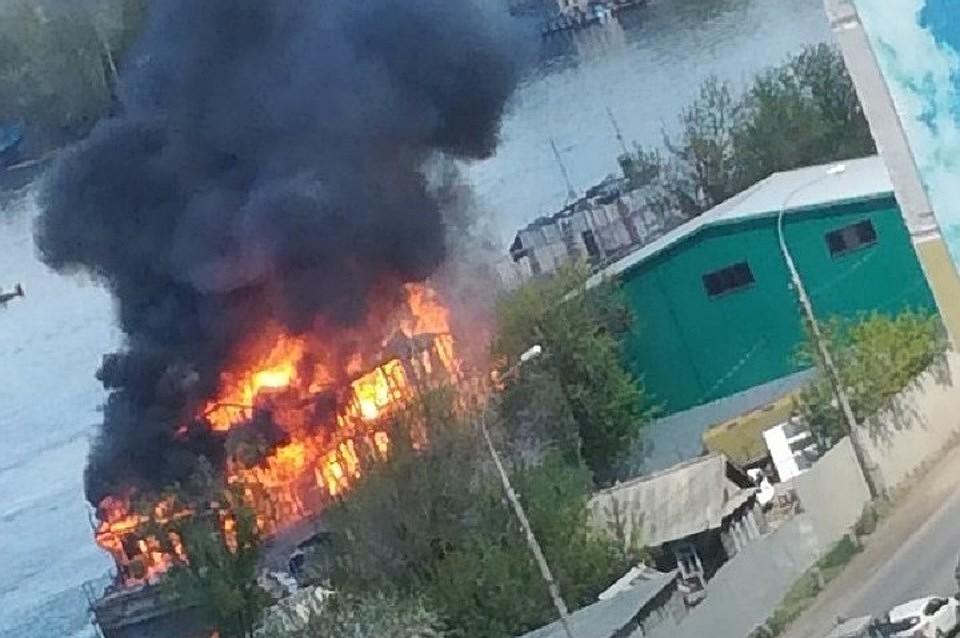 11eb3101a Прокуратура озвучила причины взрыва и пожара в протоке Сухой Самарки, где  погибли двое мужчин