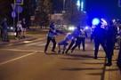 Диалога не вышло: мирный протест у Драмтеатра в Екатеринбурге перешел в активное противостояние: прямая онлайн-трансляция