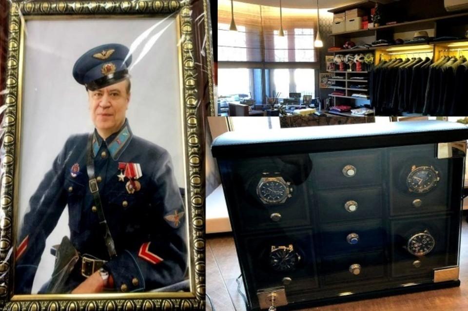 Эти снимки были сделаны во время обыска в особняке замгубернатора. Фото: соцсети