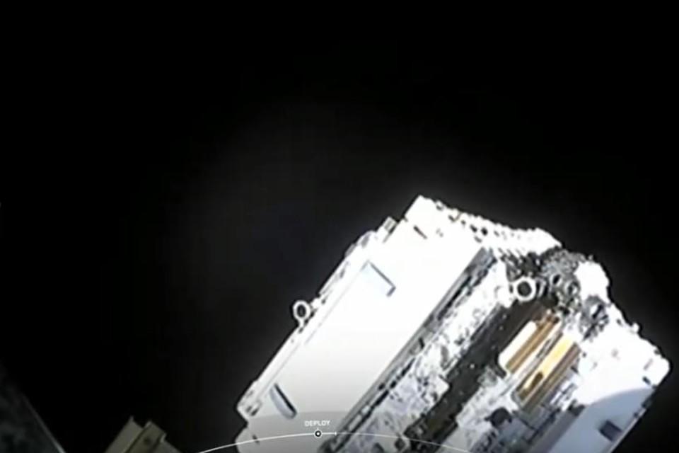 SpaceX сообщила об успешном выводе в космос 60 спутников Starlink. Фото: соцсети