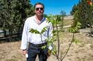 Сергей Маховиков рассказал в Севастополе, о чем разговаривает с деревьями