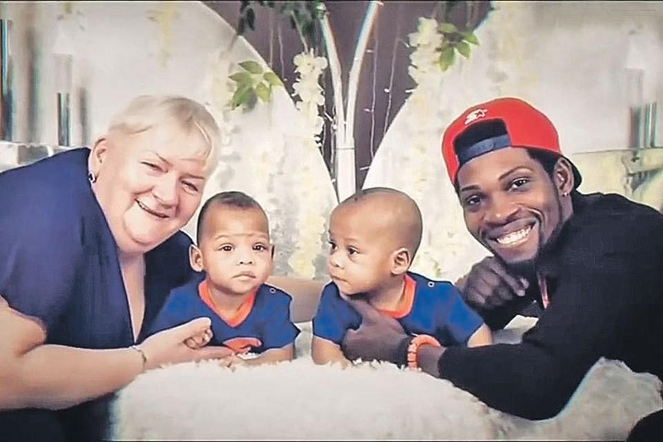 От нигерийца Пауля Наталия родила сыновей-близнецов - Дэвида и Даниила. Фото: Личный архив