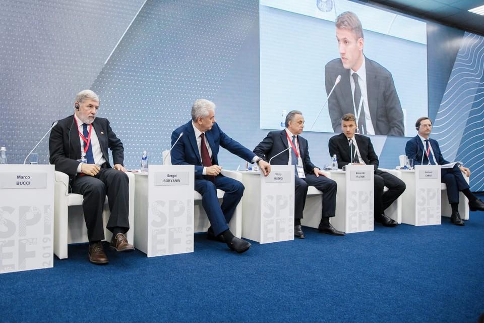 В рамках Петербургского международного экономического форума прошла сессия «Инвестиции в развитие городской среды»