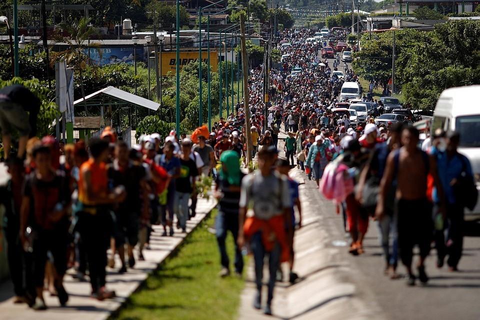 Мексика пообещала прекратить поток иммигрантов через свою территорию в США