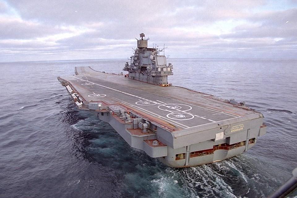 авианесущий крейсер адмирал кузнецов фото