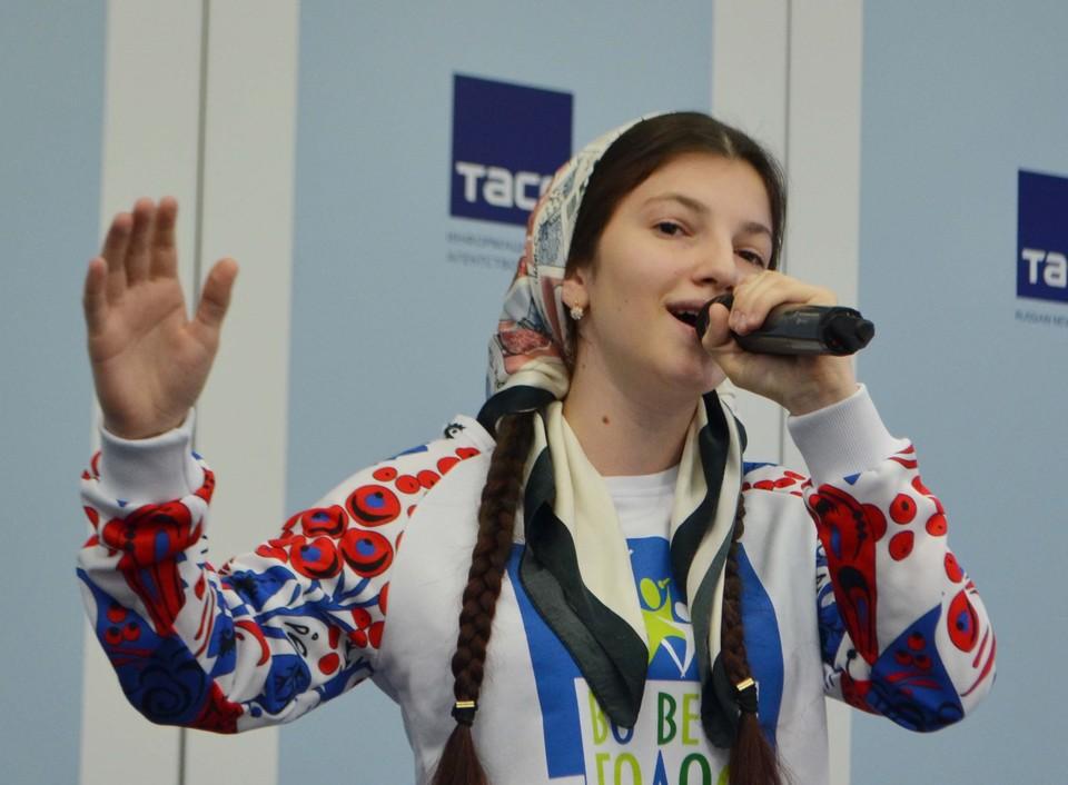 Победительница первого сезона Мадина Гойсултанова.