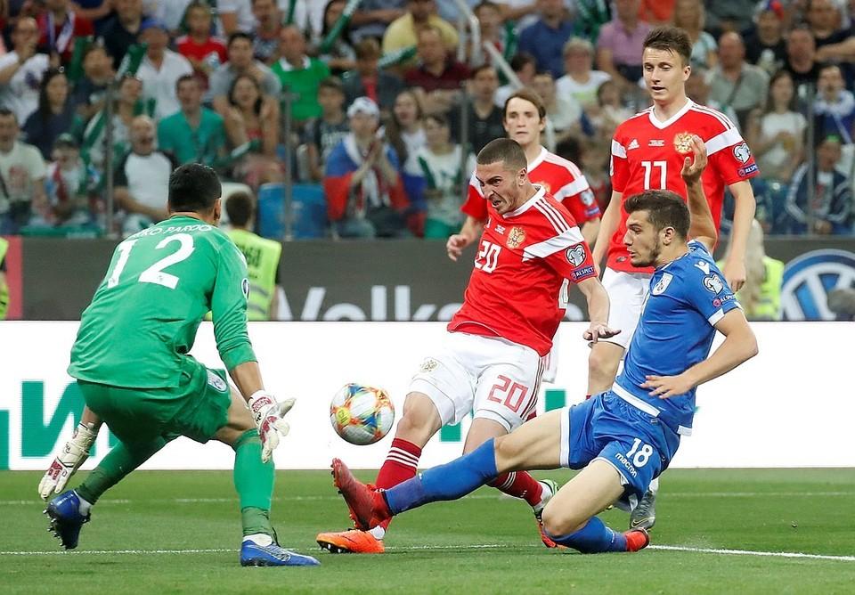Тренер сборной Кипра поделился своими впечатлениями от матча Россия – Кипр.
