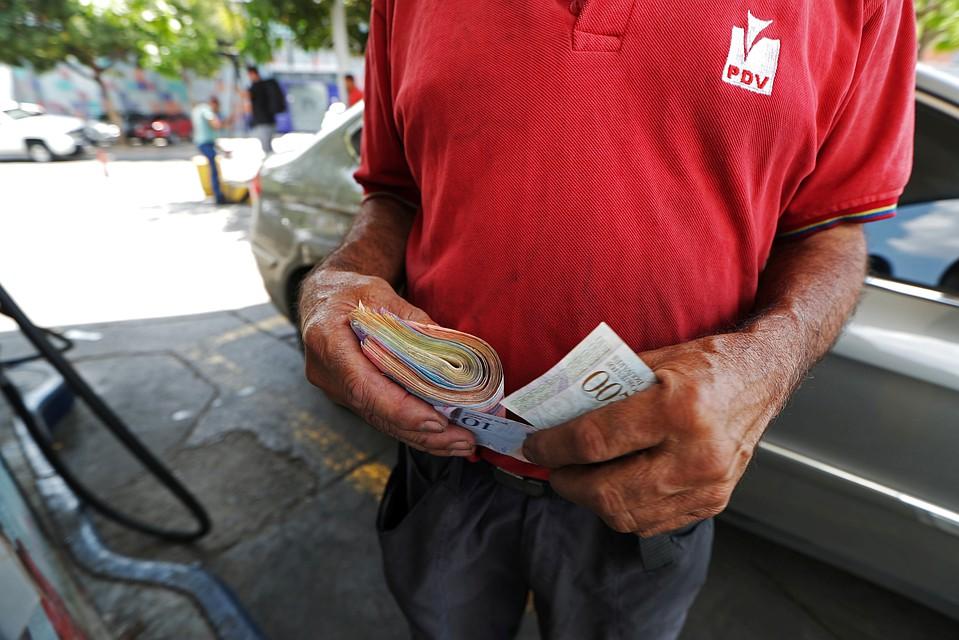 В Венесуэле вводятся новые банкноты