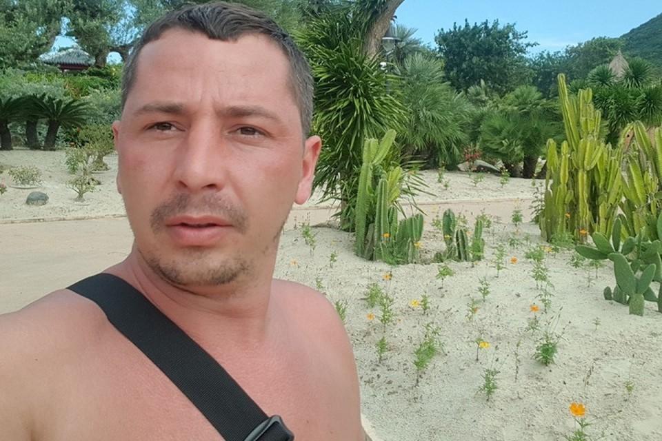 Руслан Елисеев совершил преступление, находясь в отпуске на юге