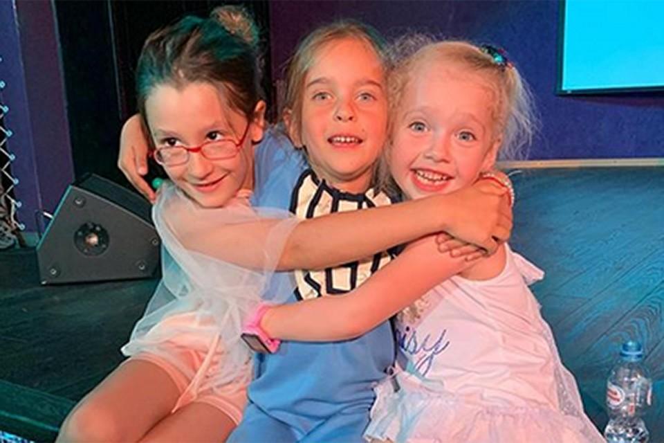 Дети были счастливы! На фото подружки: Ева Лобода, Амели Ревва и Лиза Галкина