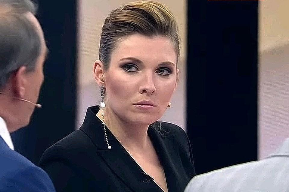 Телеведущая и журналистка Ольга Скабеева