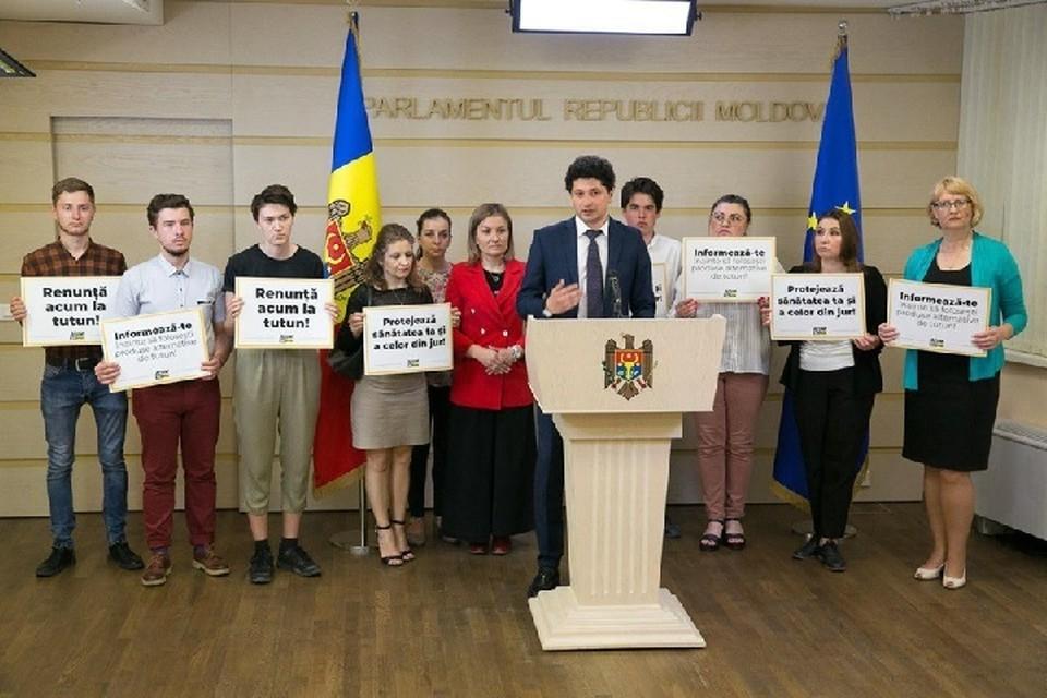 Законодательную инициативу в области контроля табака выдвинул Раду Мариан