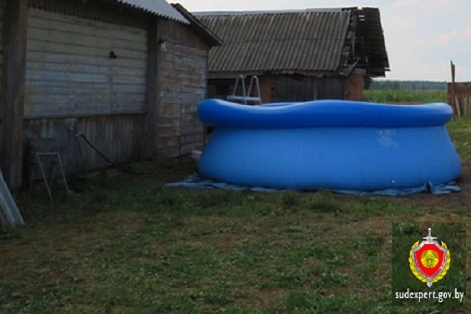 Погибший мужчина приехал в гости и хотел помочь с бассейном. Фото: ГКСЭ.