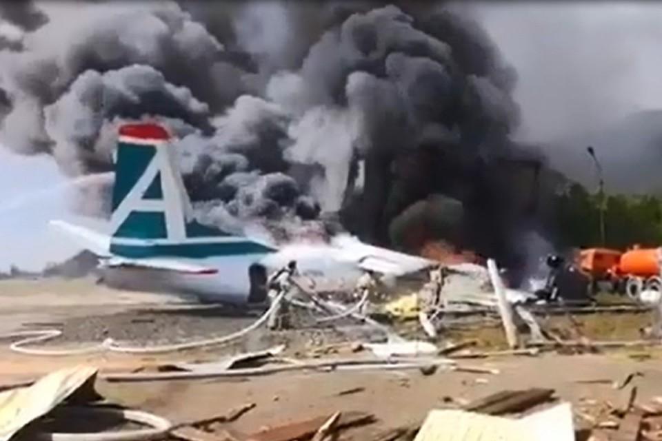 Уголовное дело об авиакатастрофе АН-24 в Бурятии передано в центральный аппарат Следственного комитета
