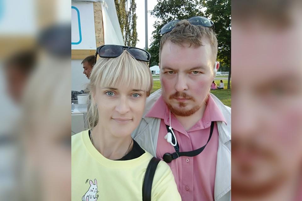 Татьяна с мужем Андреем. Фото из архива семьи