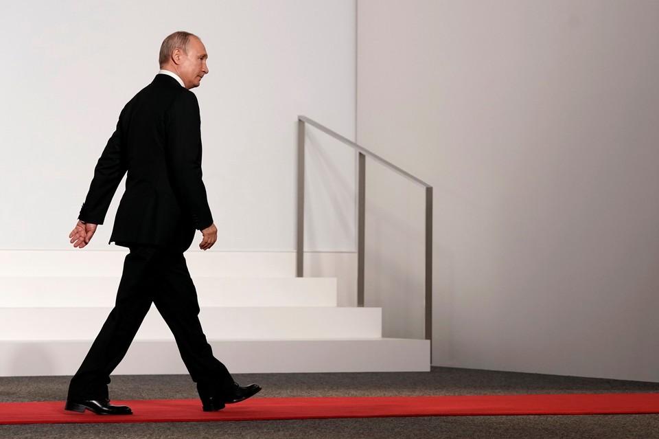 Владимир Путин дал интервью перед саммитом Большой двадцатки