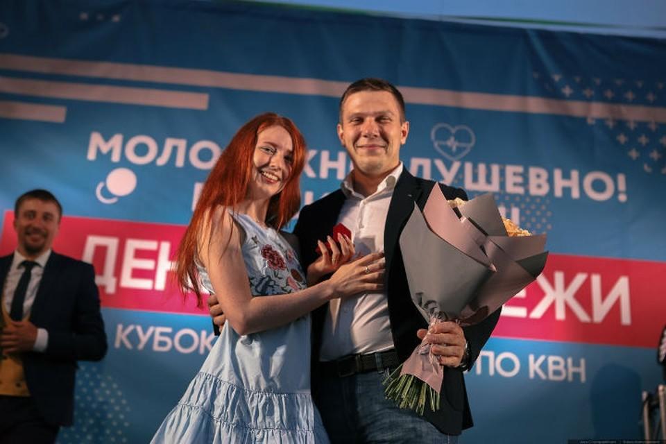 Счастливая пара Фото: vk.com/krasnoyarskrf