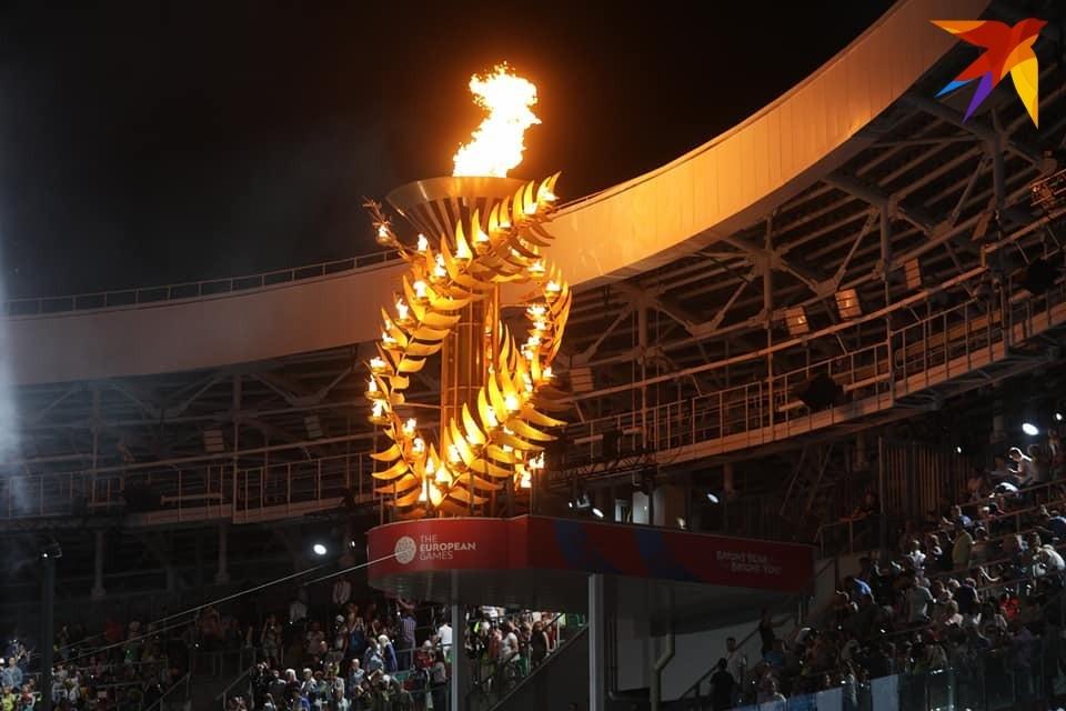 Настало время погасить огонь Европейских игр в Минске.