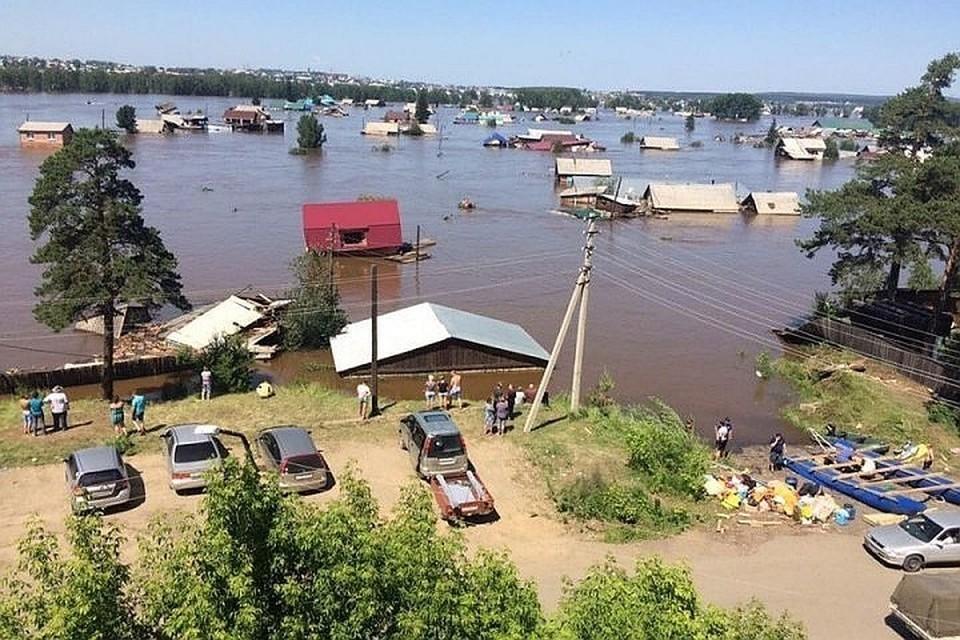 Последствия паводков в Иркутской области: первые четыре семьи получили выплаты за погибших родственников. Фото: Николай Текалов.