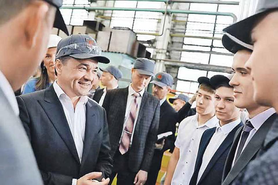 Андрей Воробьев встретился с работниками «ЗиО Подольск»