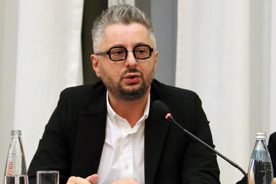 """Гендиректор грузинского телеканала """"Рустави 2"""" Николоз Гварамия."""