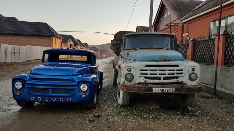 Уроженцы Чечни сделали из ржавого ЗИЛа элитный автомобиль