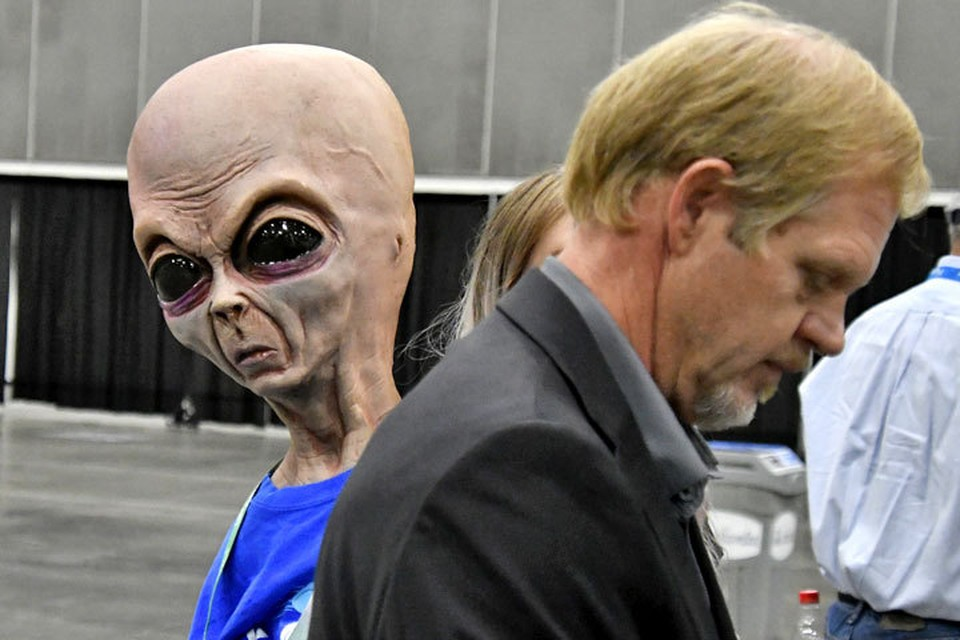 Эксперт утверждает: есть люди, видевшие инопланетян.
