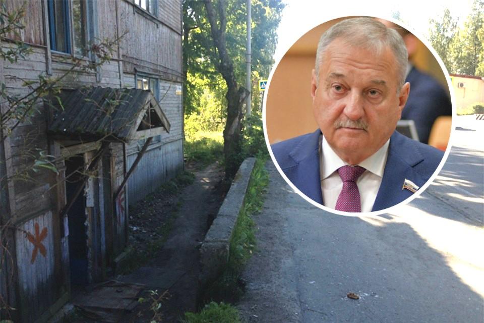 Сегодня в Кирове многих жильцов аварийных домов переселяют в ветхие дома, которые через пару лет тоже становятся опасными для проживания