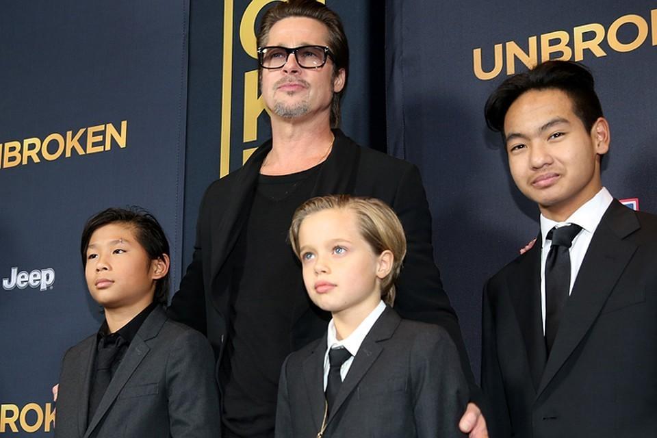 Долгое время после расставания Анджелина Джоли и Брэд Питт не могли уладить вопрос об опеке над детьми