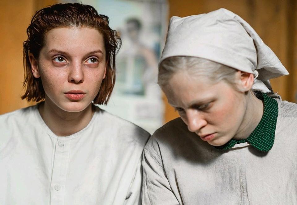 "Кадр из скандального фильма ""Дылда"" Кантемира Балагова."