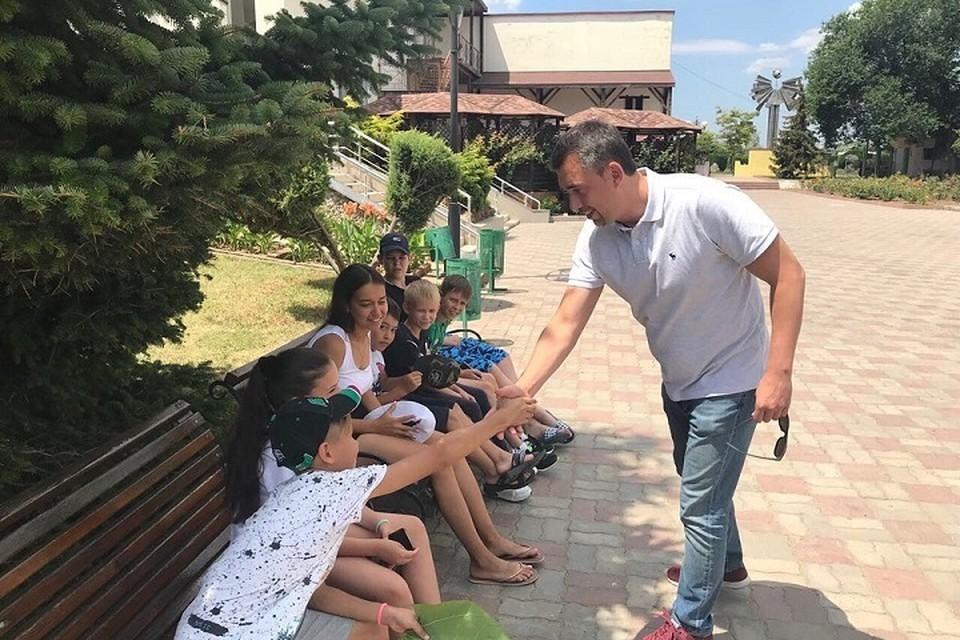 Также были опрошены дети, оставшиеся в лагере. Также были опрошены дети, оставшиеся в лагере. Фото: @damirfattakhov