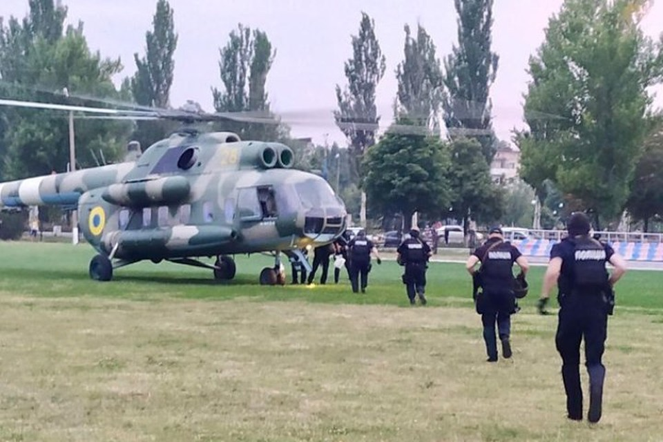 МВД Украины перебросило спецназ в Донецкую область. Фото: Twitter /МВД Украины