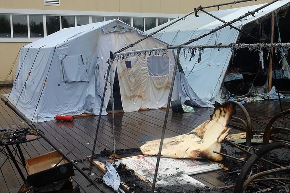 Детский лагерь в Хабаровском крае закроют. Фото: ГУ МЧС России