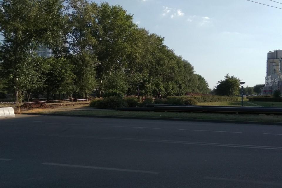 В Липецке перекроют второстепенную дорогу вдоль Проспекта Победы