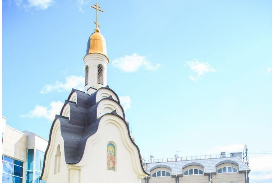 Купол часовни Святой мученицы Татьяны в Барнауле. Фото: altai-eparhia.ru