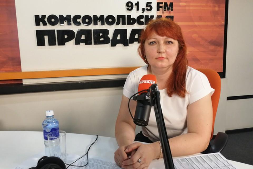 Юлия Шаталова – начальник отдела социальных выплат ПФР по Иркутской области