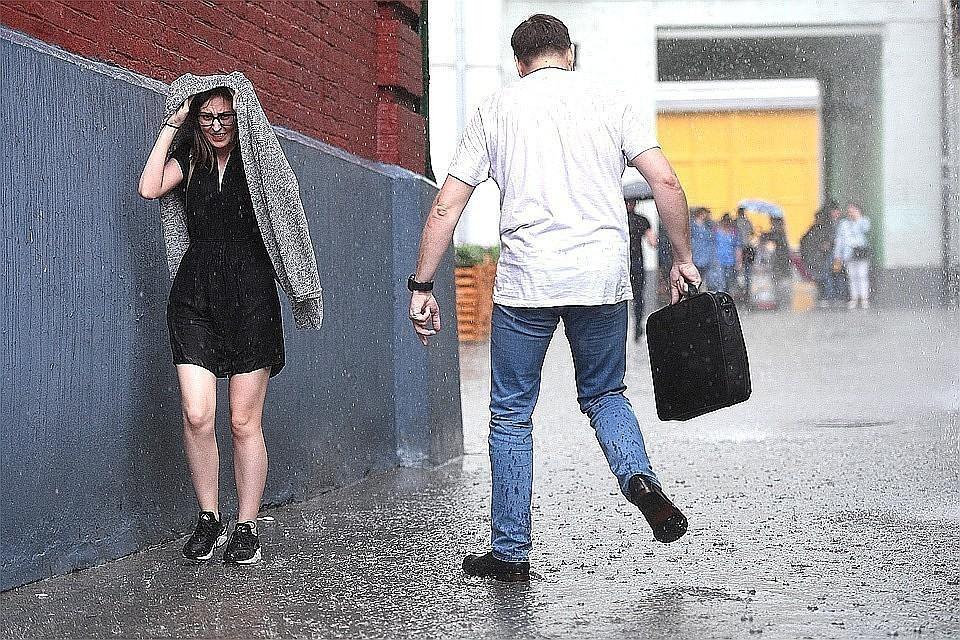 Июль 2019 года стал самым холодным в Москве за текущее столетие