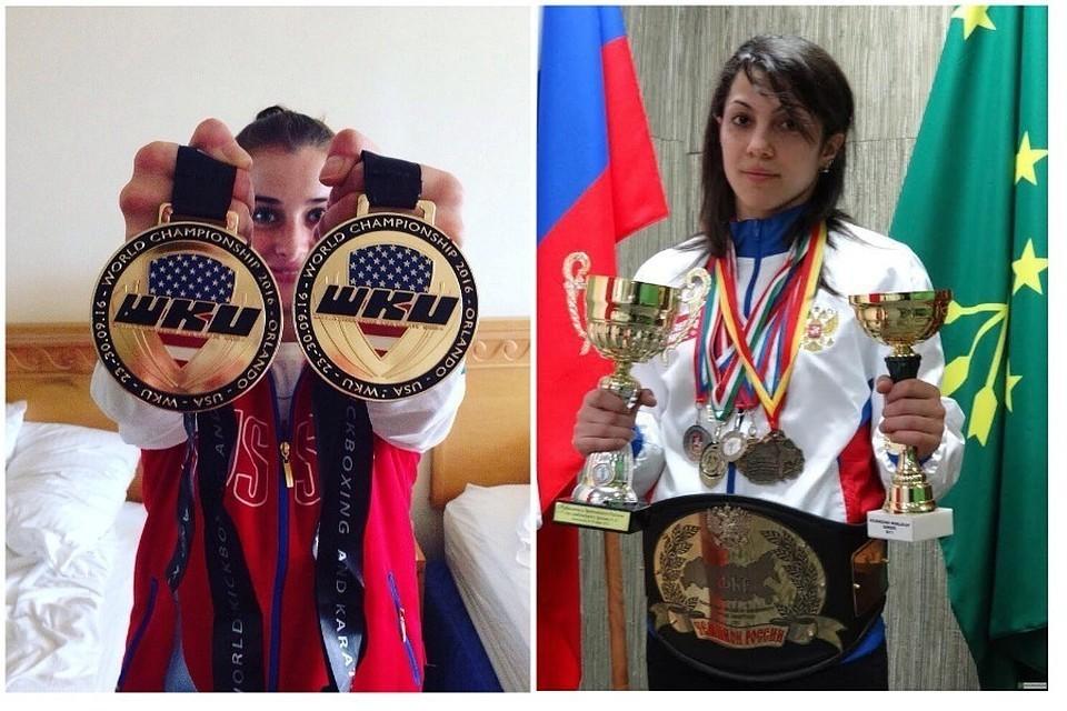 Элина Гисмеева (слева) и Фатима Жагупова. Фото: соцсети