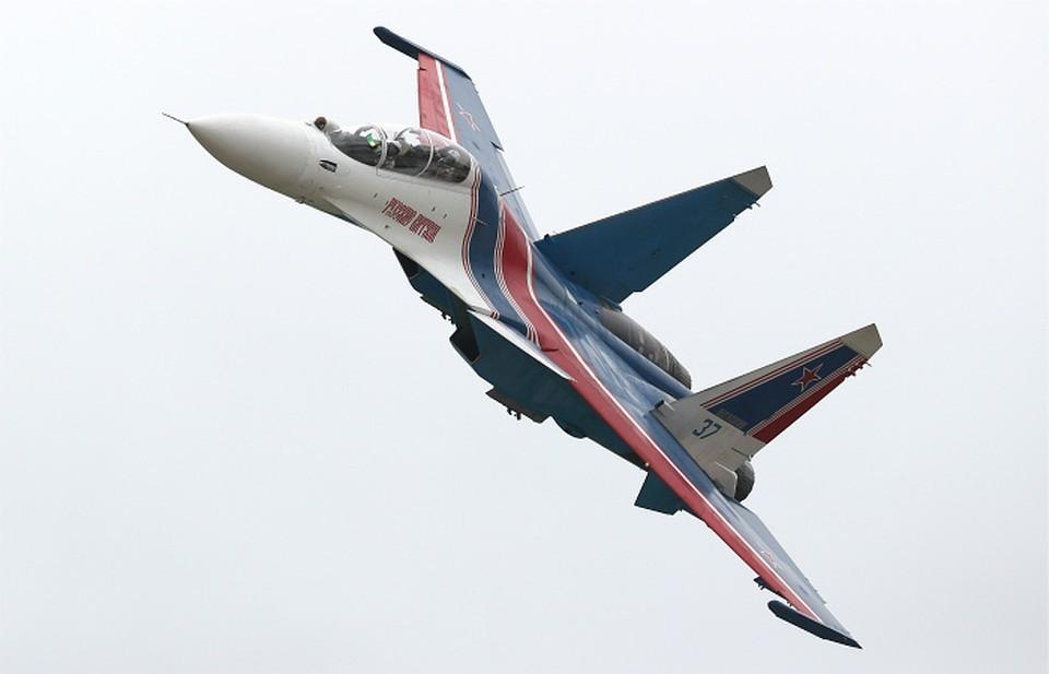 Истребитель Су-30СМ. Фото: Гавриил Григоров/ТАСС