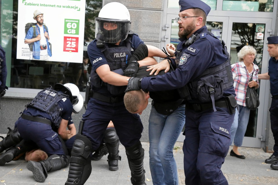 Польская полиция сообщила о задержании 10 россиян в Кракове