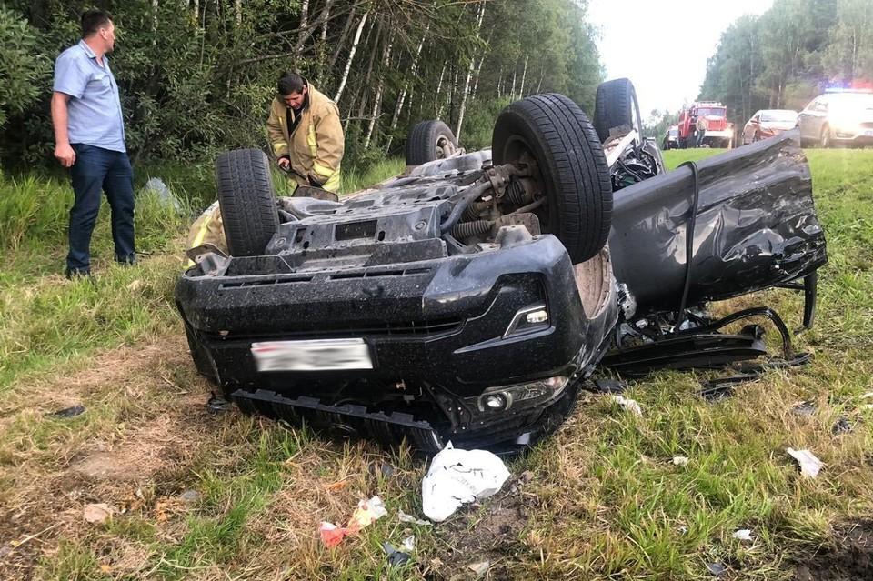 На Рижском шоссе произошла крупная авария