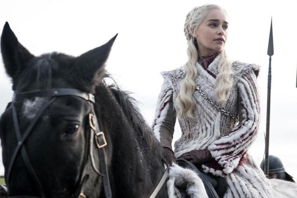 Эмилия Кларк в восьмом сезоне «Игры престолов». Фото: Кадр из фильма