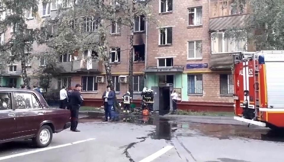 СМИ сообщают об одном пострадавшем в результате взрыва газа в жилом доме в Москве