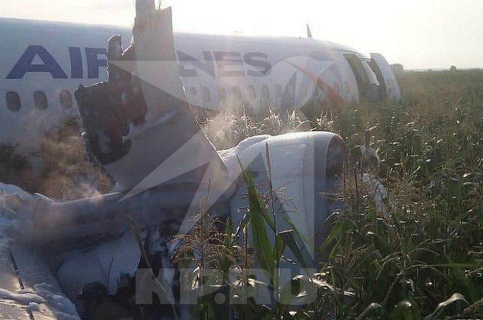 Самолет летел из подмосковного аэропорта Жуковский в Симферополь