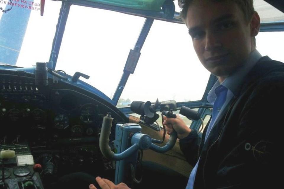 Георгию Мурзину всего 23 года, а он уже налетал 600 часов. Фото: соцсети