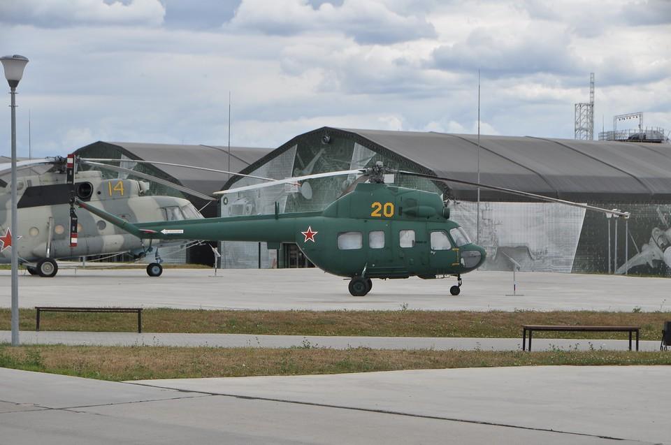 Военный вертолёт Ми-2 потерпел крушение во Львовской области